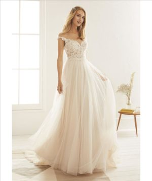 white one bridal olesa